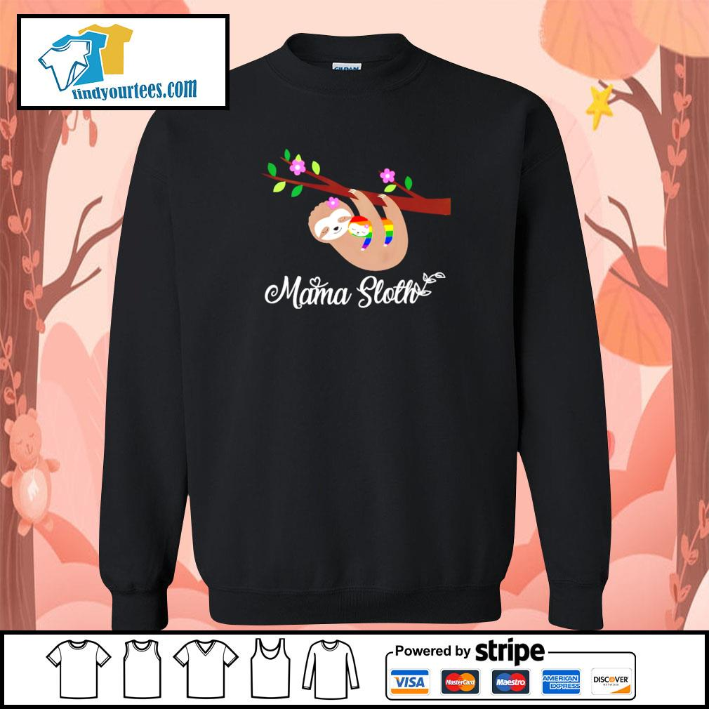 Mama sloth LGBT s sweater