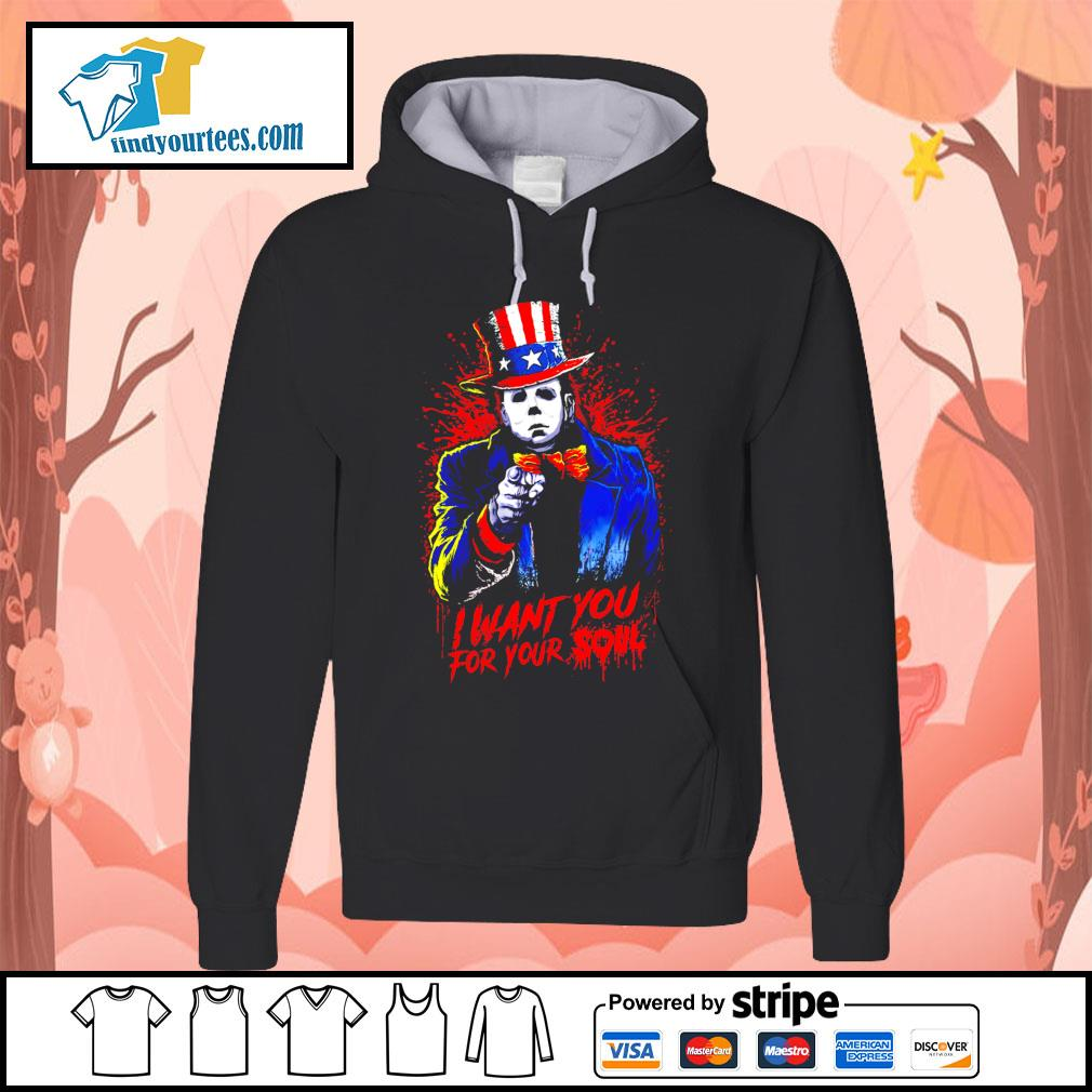 Michael Myers I want you for your soul s Hoodie