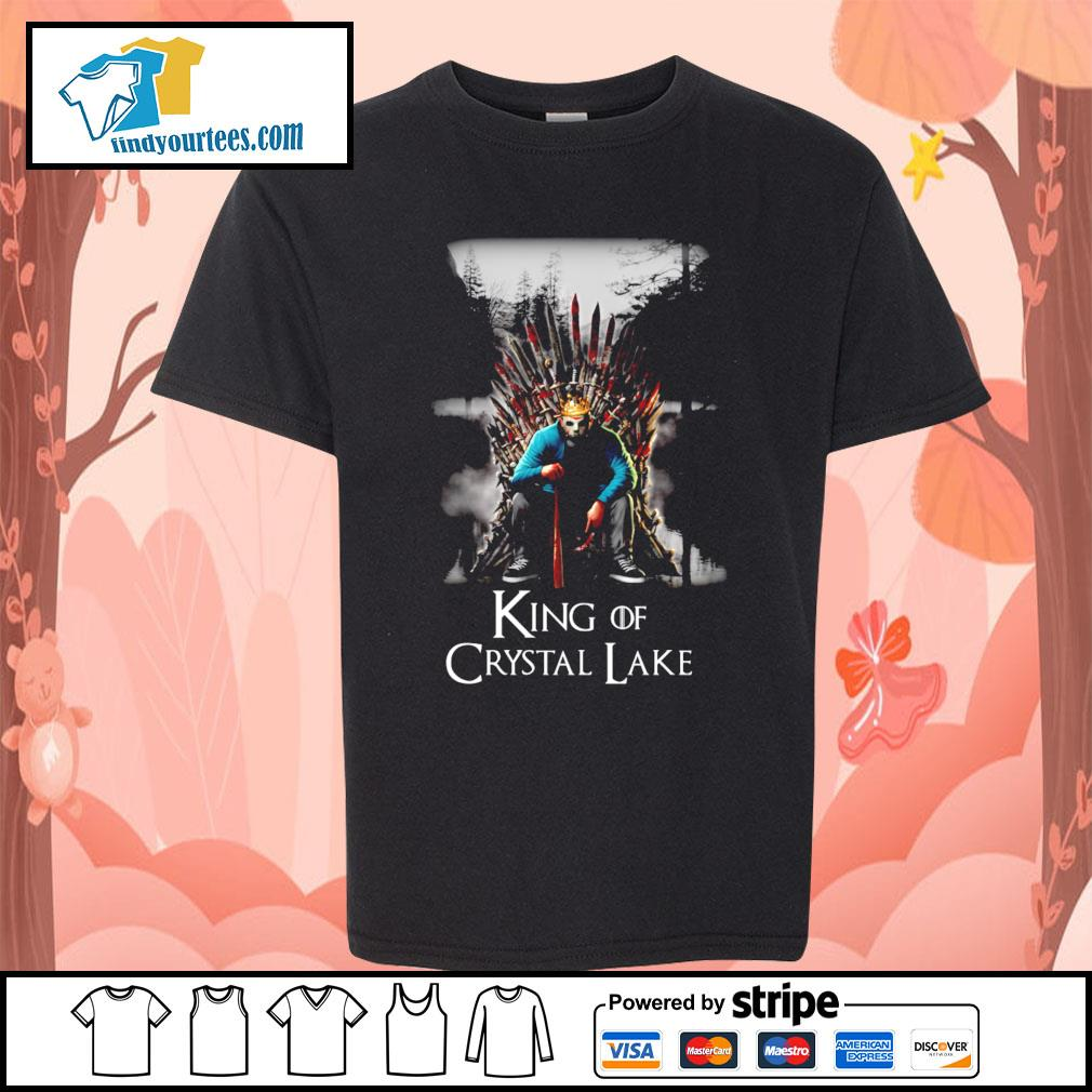 Michael Myers King of Crystal Lake s Kid-T-shirt