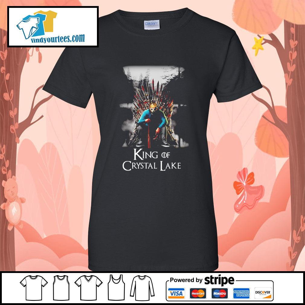 Michael Myers King of Crystal Lake s Ladies-Tee