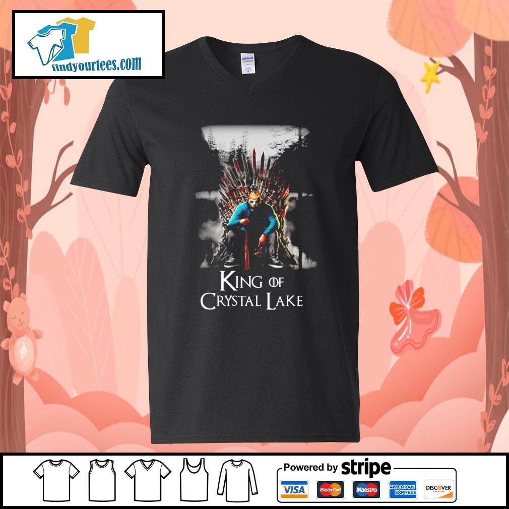 Michael Myers King of Crystal Lake s V-neck-T-shirt