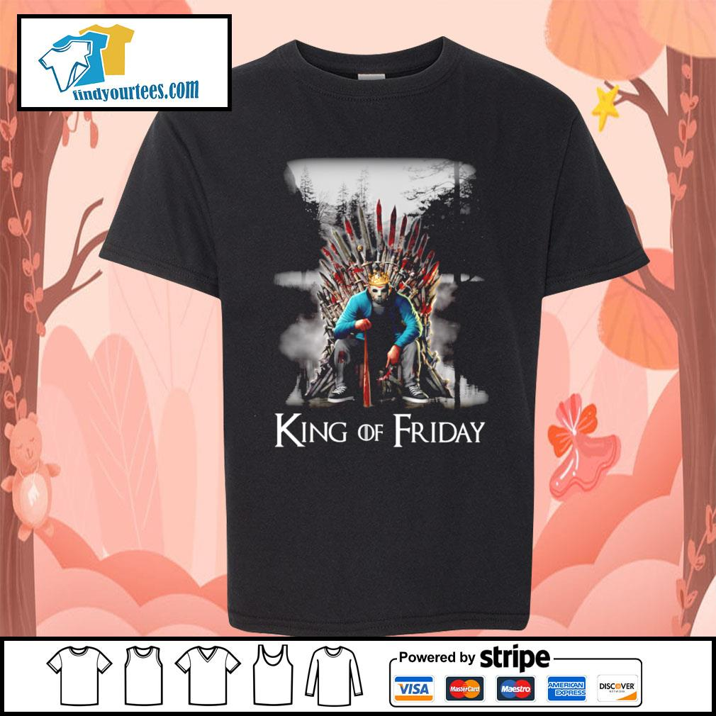 Michael Myers King of friday s Kid-T-shirt