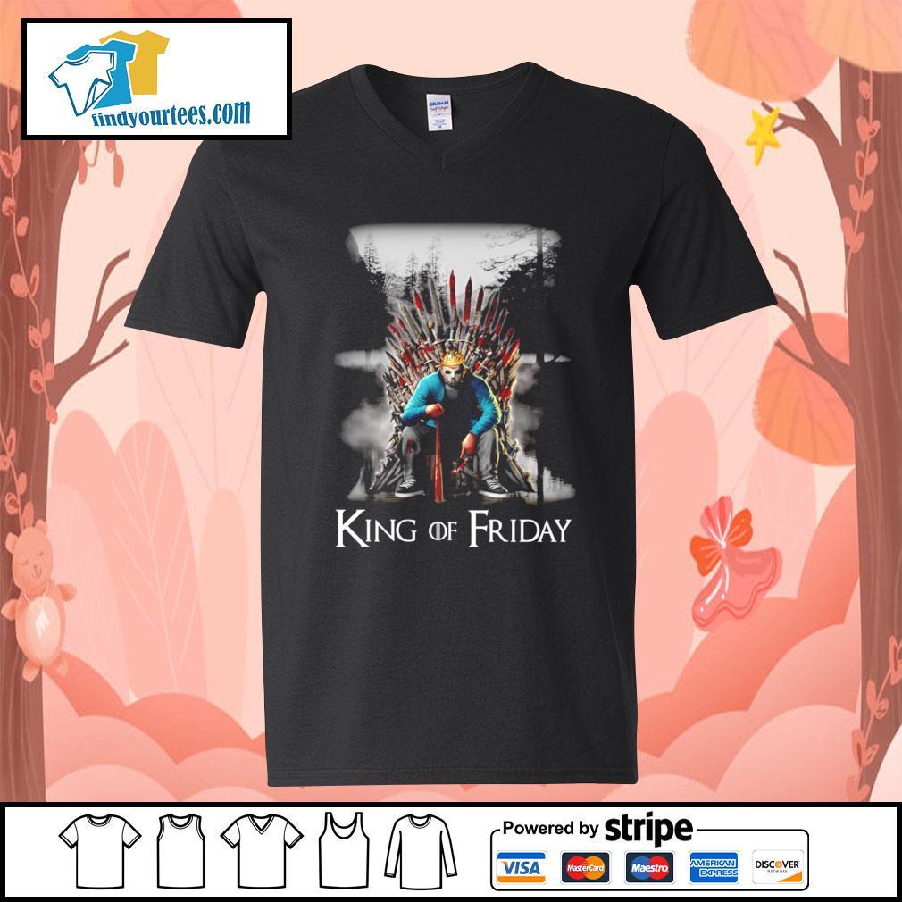 Michael Myers King of friday s V-neck-T-shirt