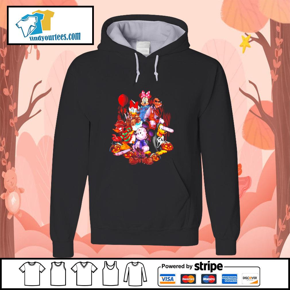 Mickey mouse movie horror character halloween s hoodie