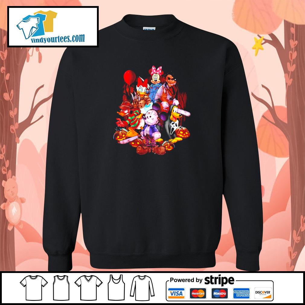 Mickey mouse movie horror character halloween s sweater