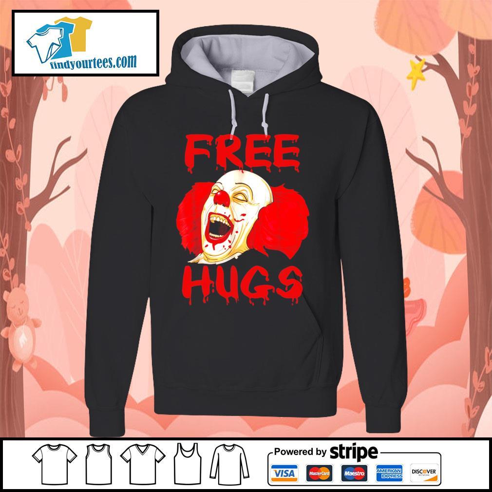 Pennywise free hugs Halloween s Hoodie