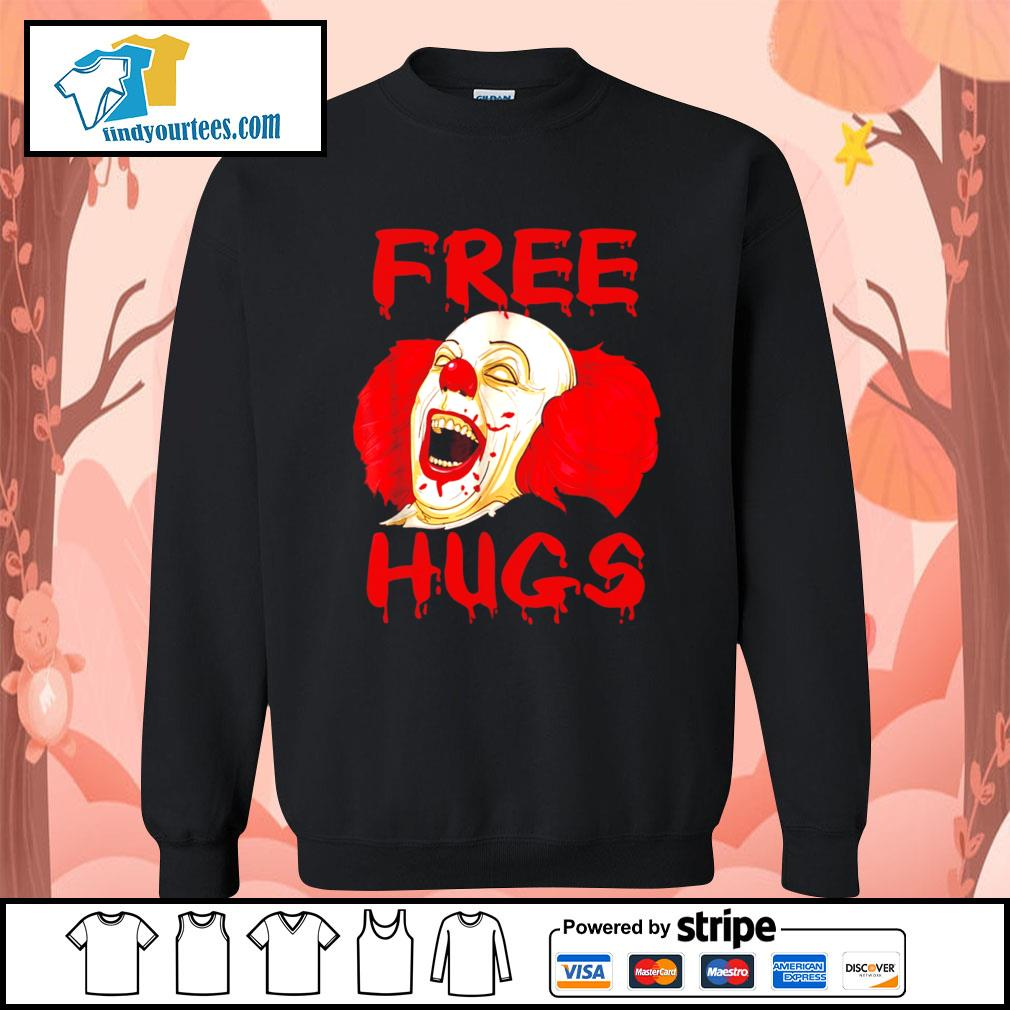 Pennywise free hugs Halloween s Sweater