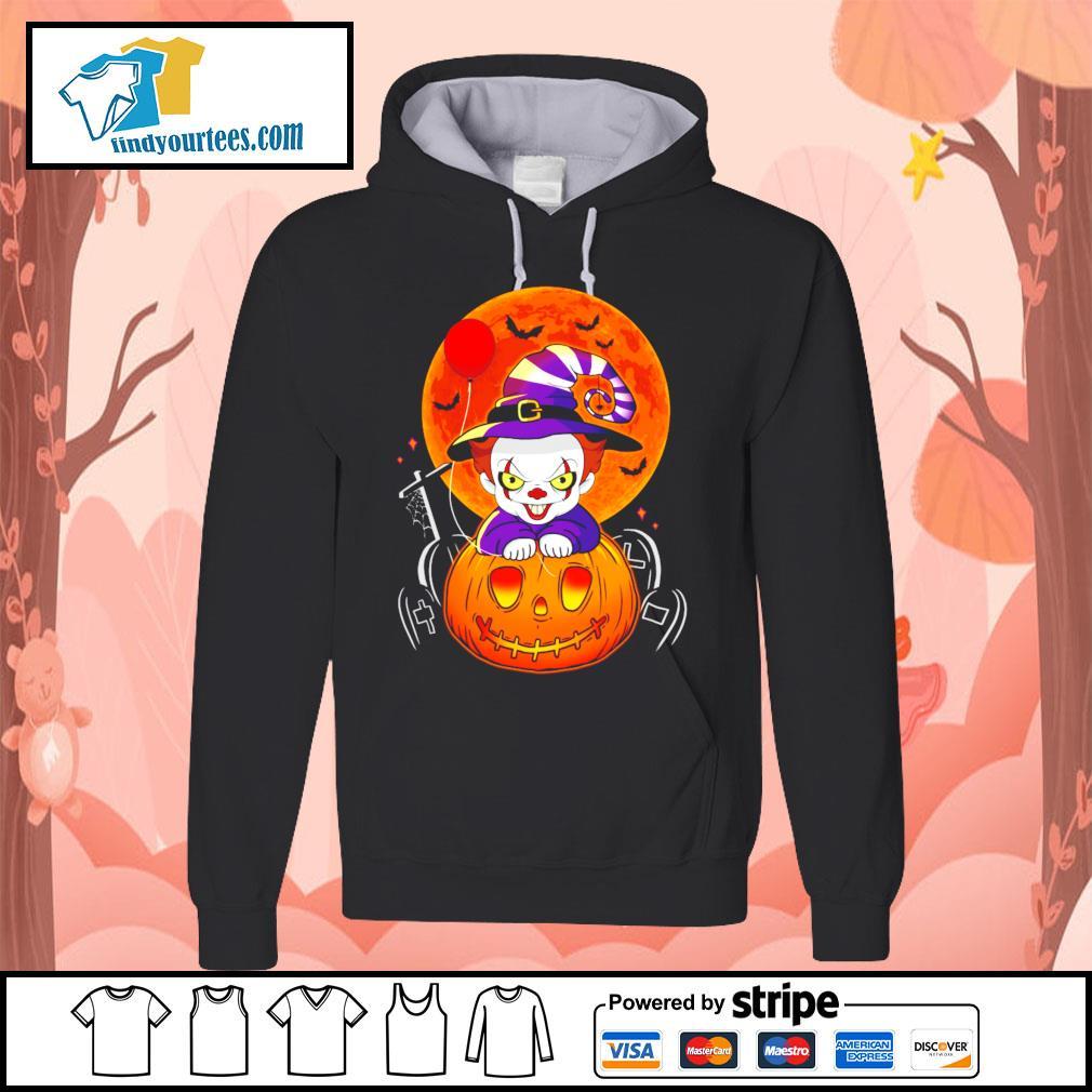 Pennywise pumpkin Halloween s Hoodie