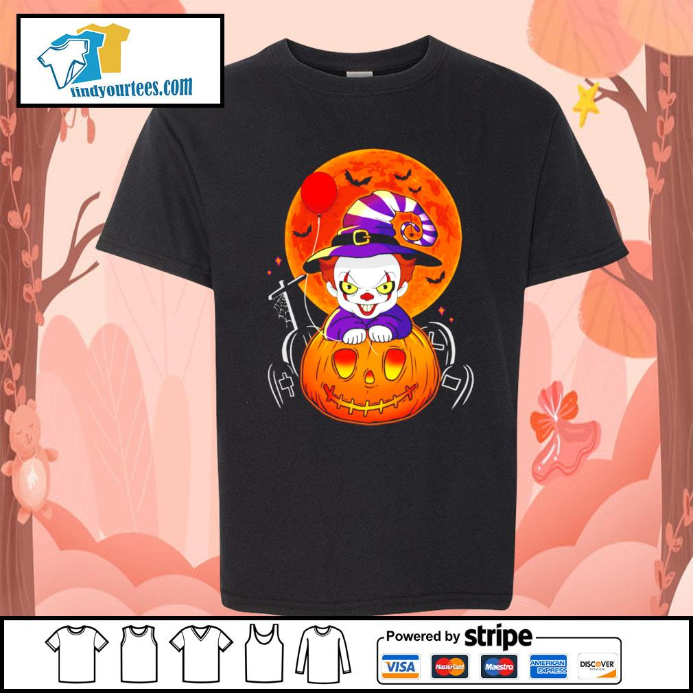 Pennywise pumpkin Halloween s Kid-T-shirt