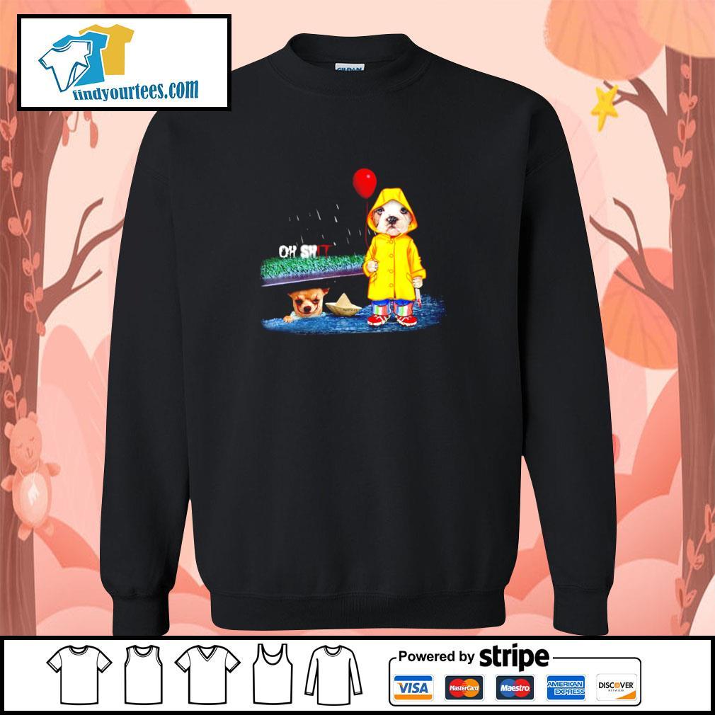 Pitbull oh shit IT chihuahua s sweater