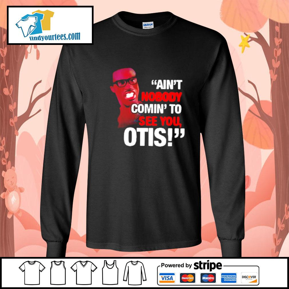 Pretty David Ruffin ain't nobody comin' to see you otis s Long-Sleeves-Tee