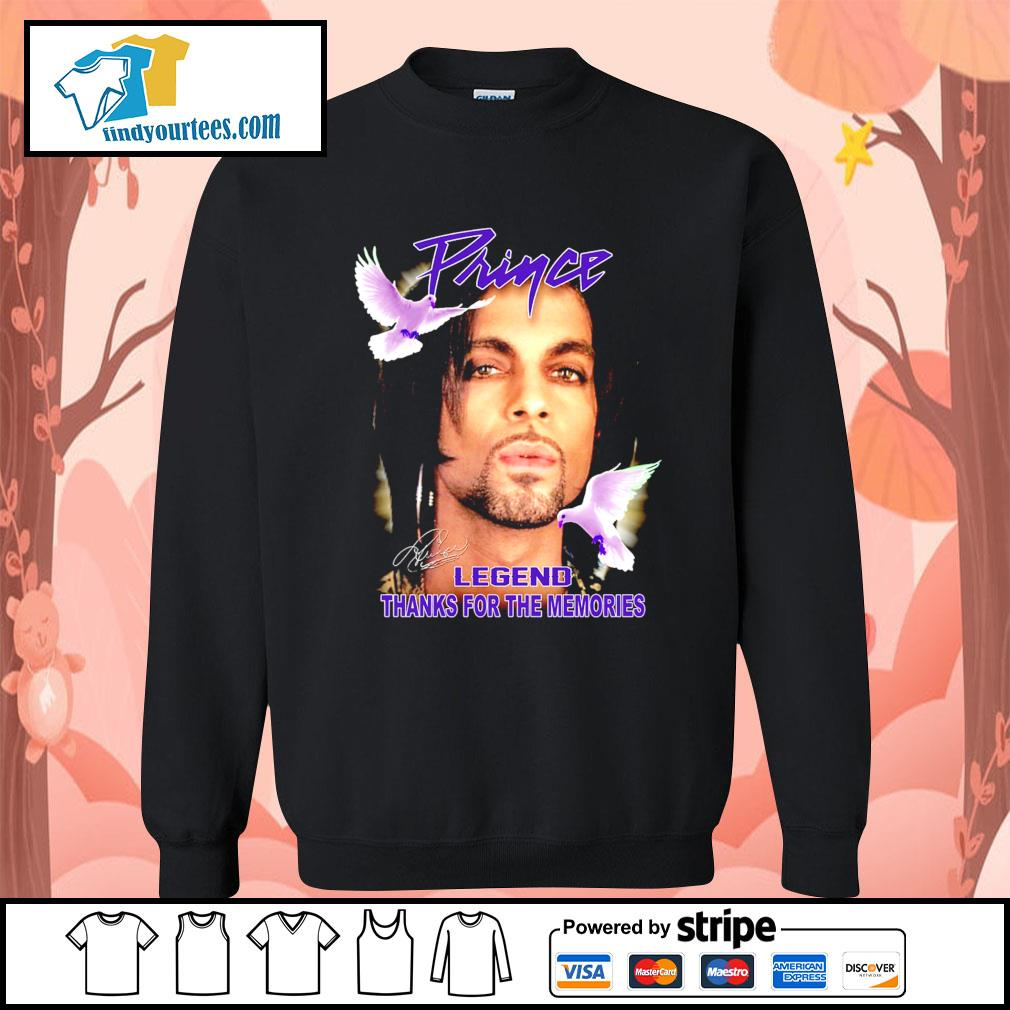 Prince legend thank for the memories signature s Sweater