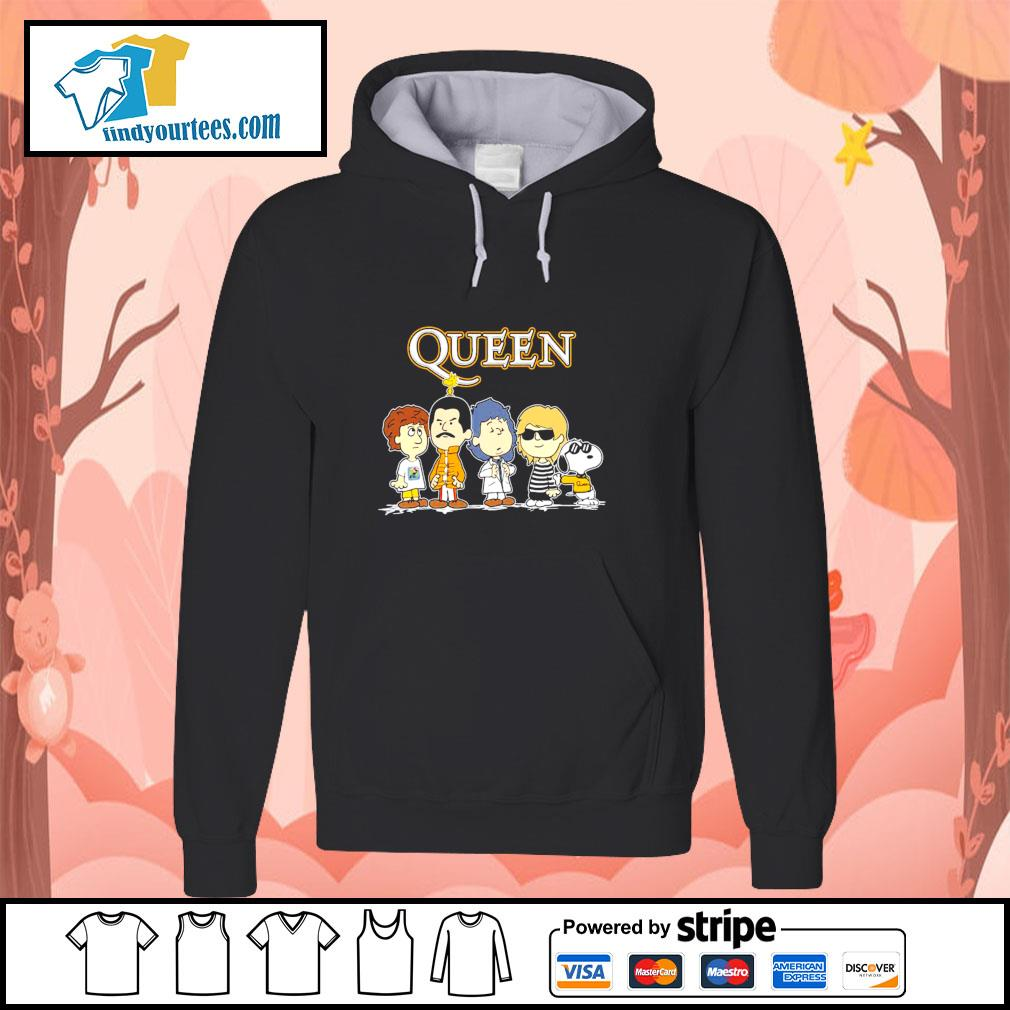 Queen the Peanuts characters s hoodie