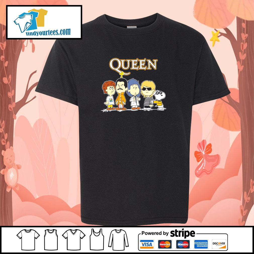 Queen the Peanuts characters s youth-tee