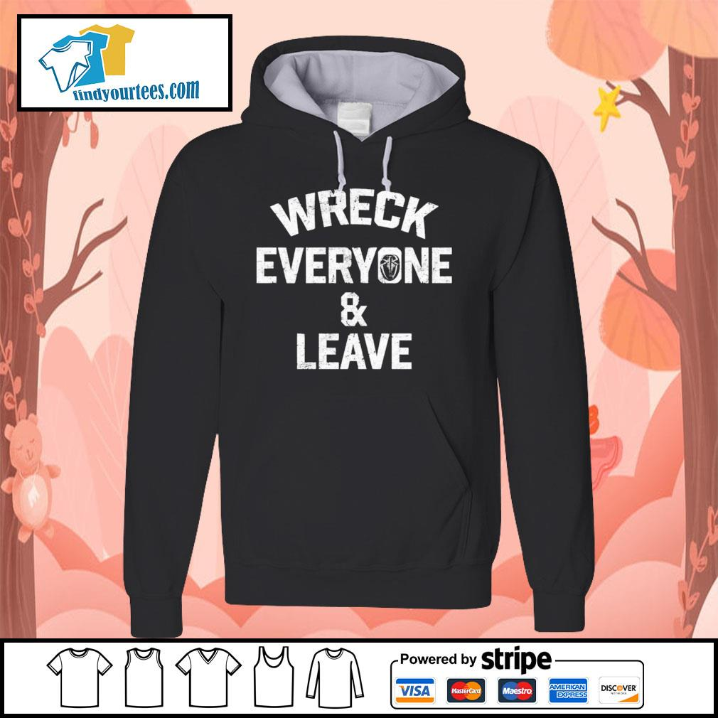 Roman Reigns wreck everyone and leave s Hoodie