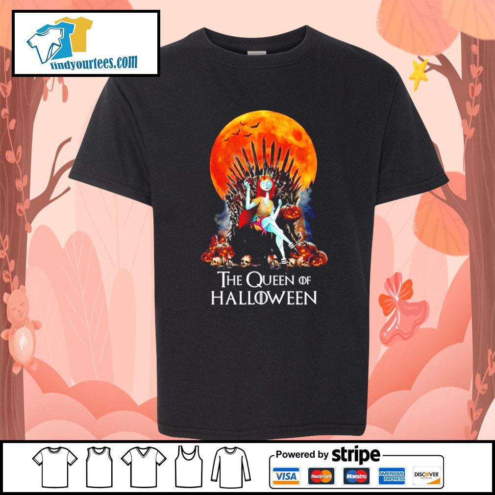 Sally the Queen of Halloween s Kid-T-shirt