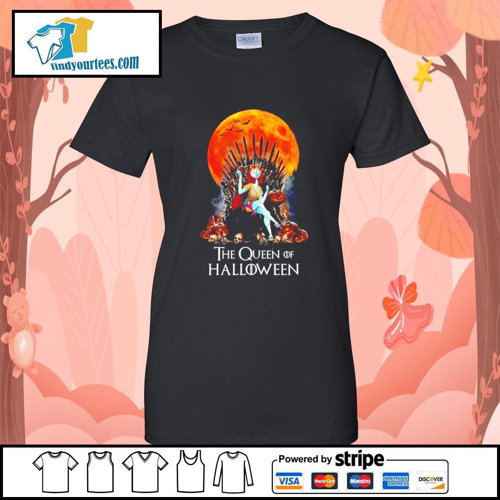 Sally the Queen of Halloween s Ladies-Tee