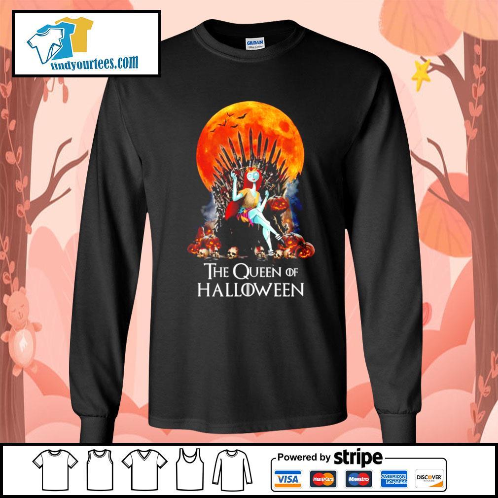 Sally the Queen of Halloween s Long-Sleeves-Tee