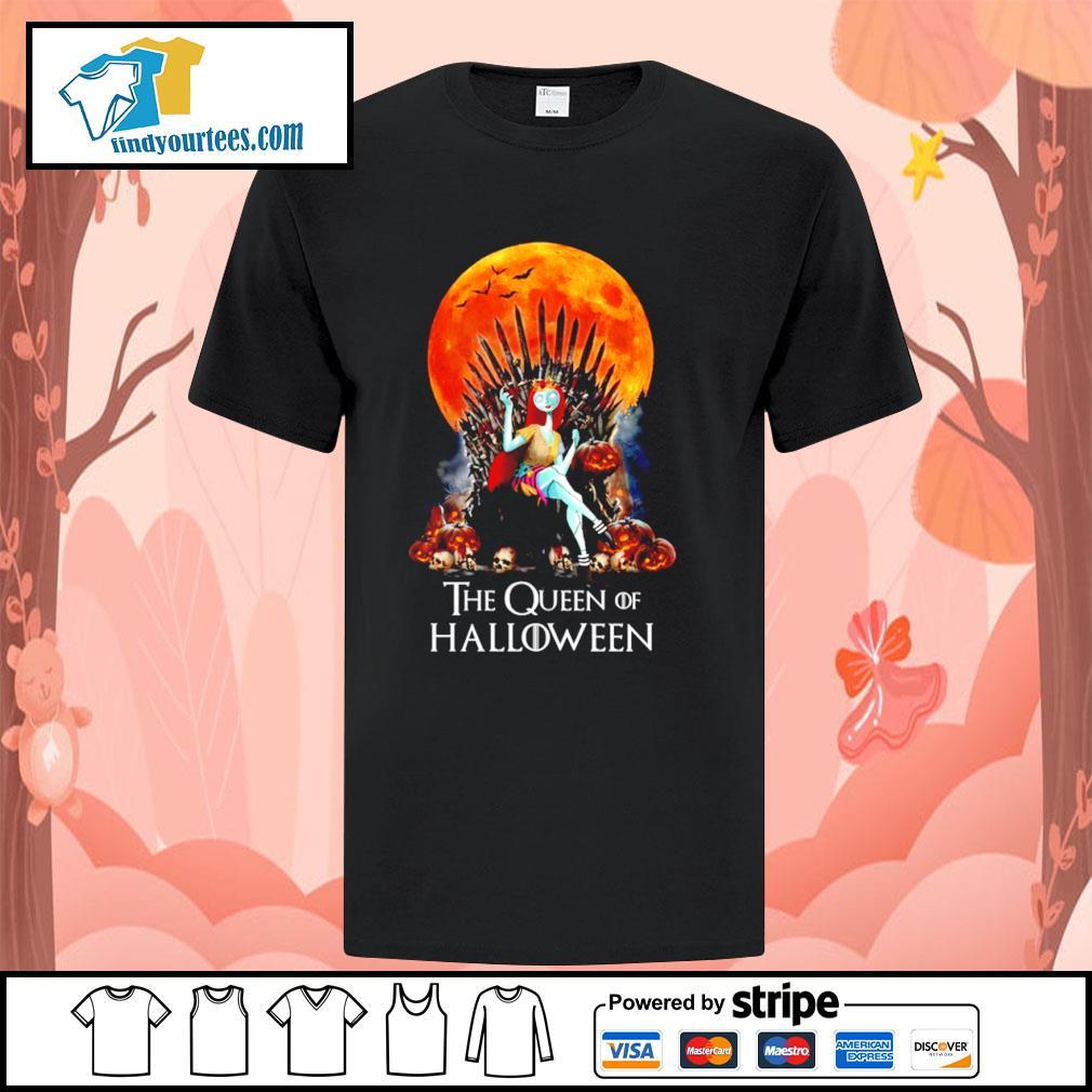 Sally the Queen of Halloween shirt