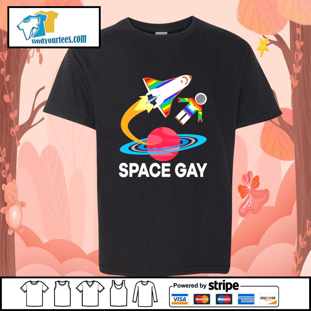 Space gay LGBT s youth-tee