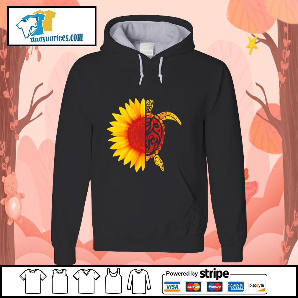 Sunflower turtle s hoodie