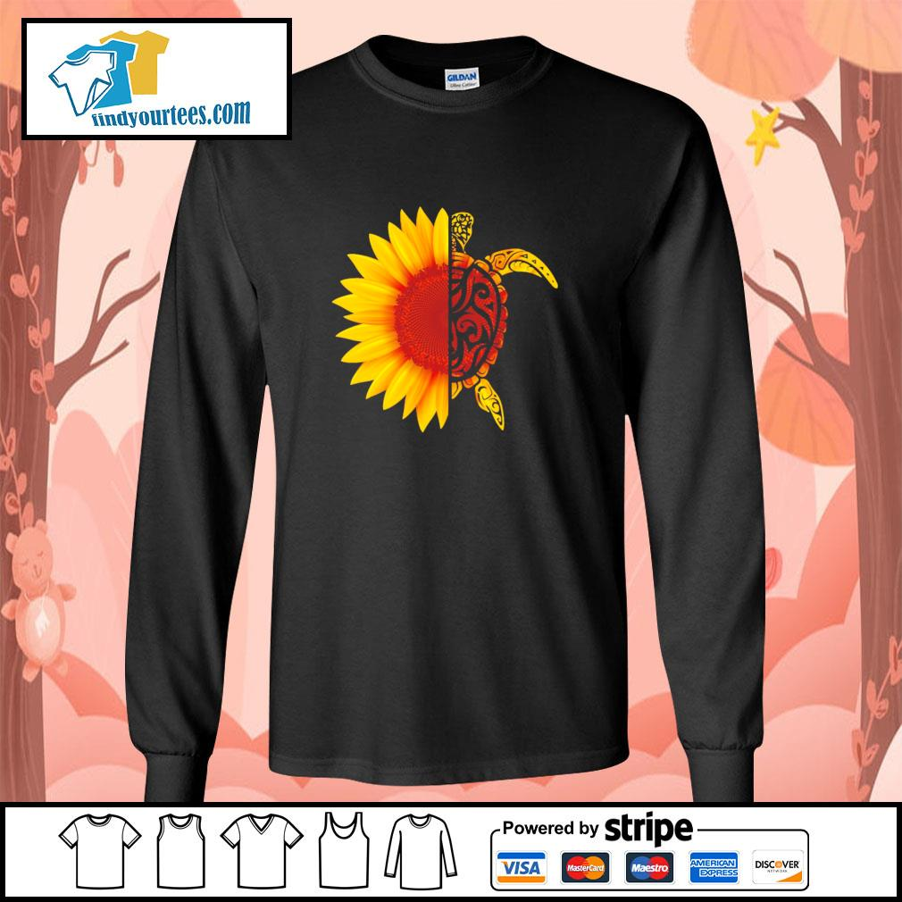 Sunflower turtle s longsleeve-tee