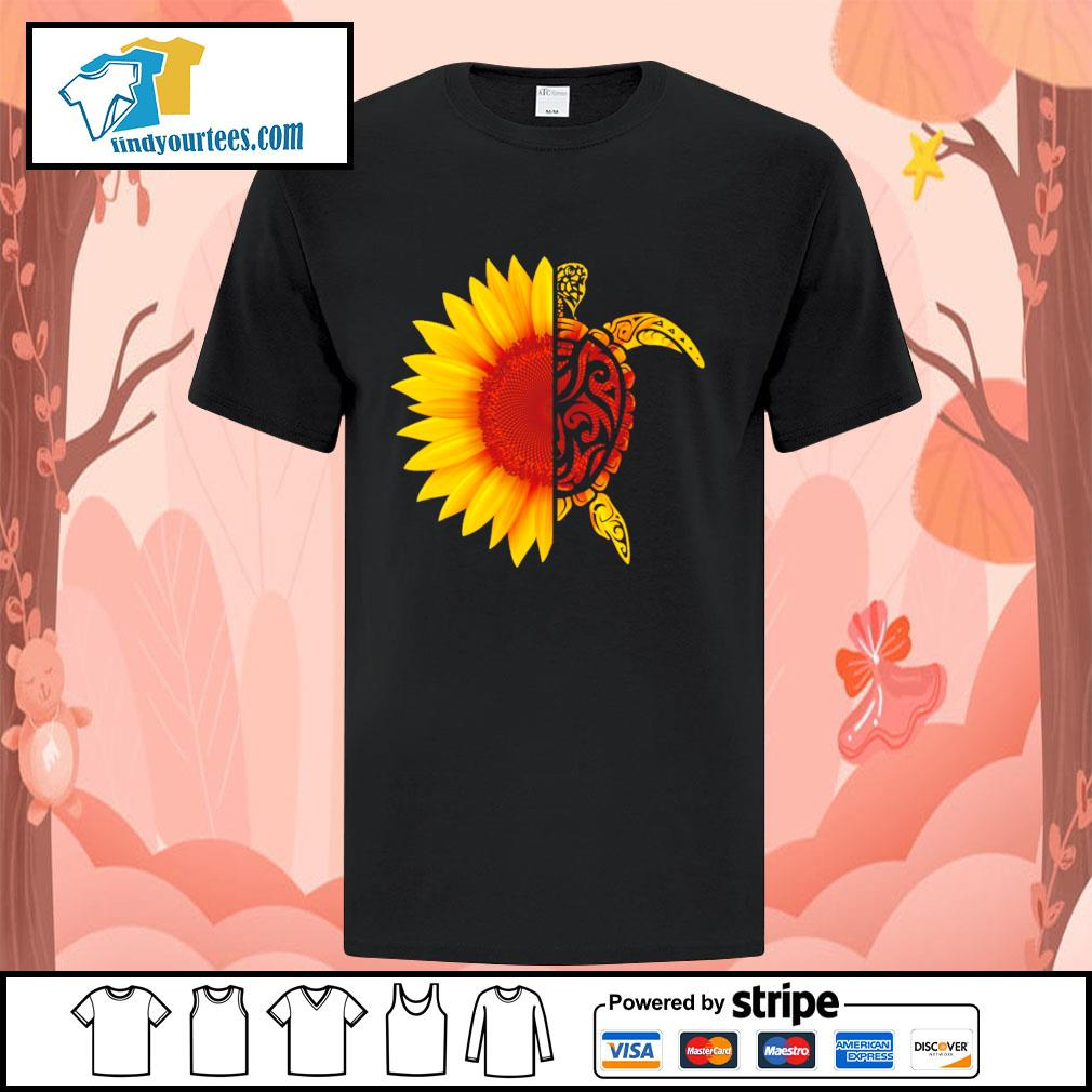 Sunflower turtle shirt