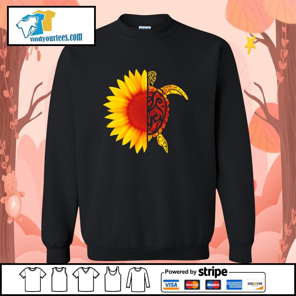 Sunflower turtle s sweater