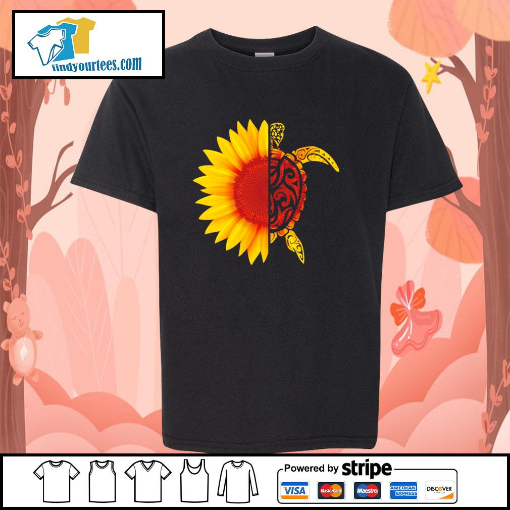 Sunflower turtle s youth-tee
