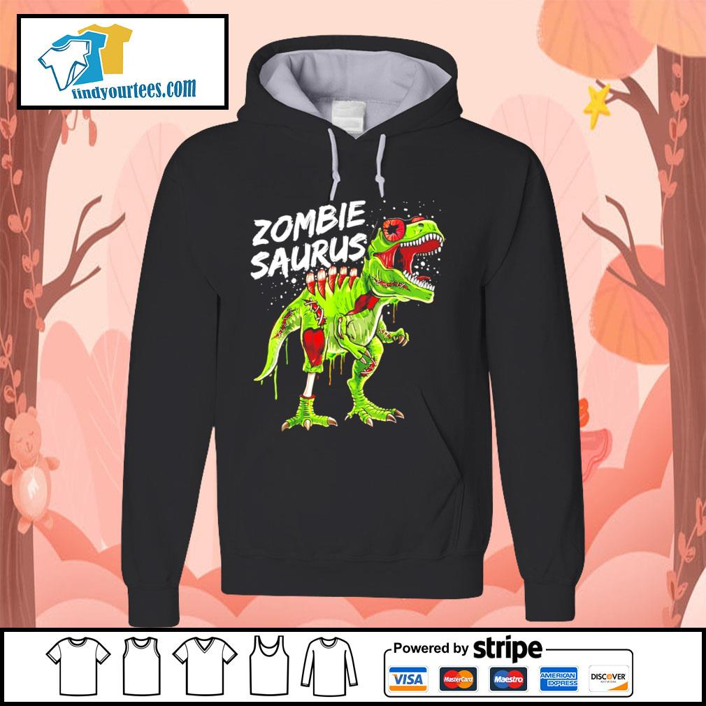 T-Rex zombie saurus Halloween s Hoodie