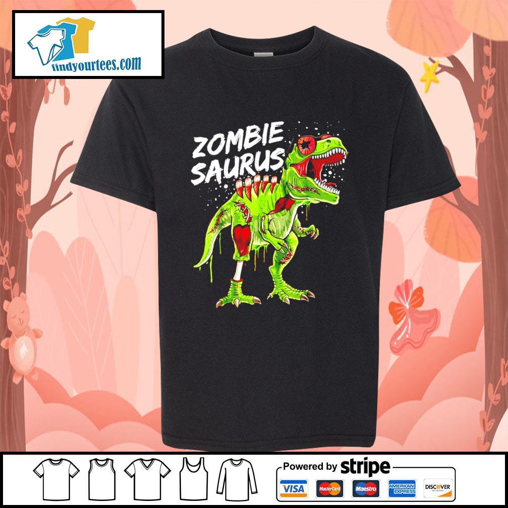 T-Rex zombie saurus Halloween s Kid-T-shirt