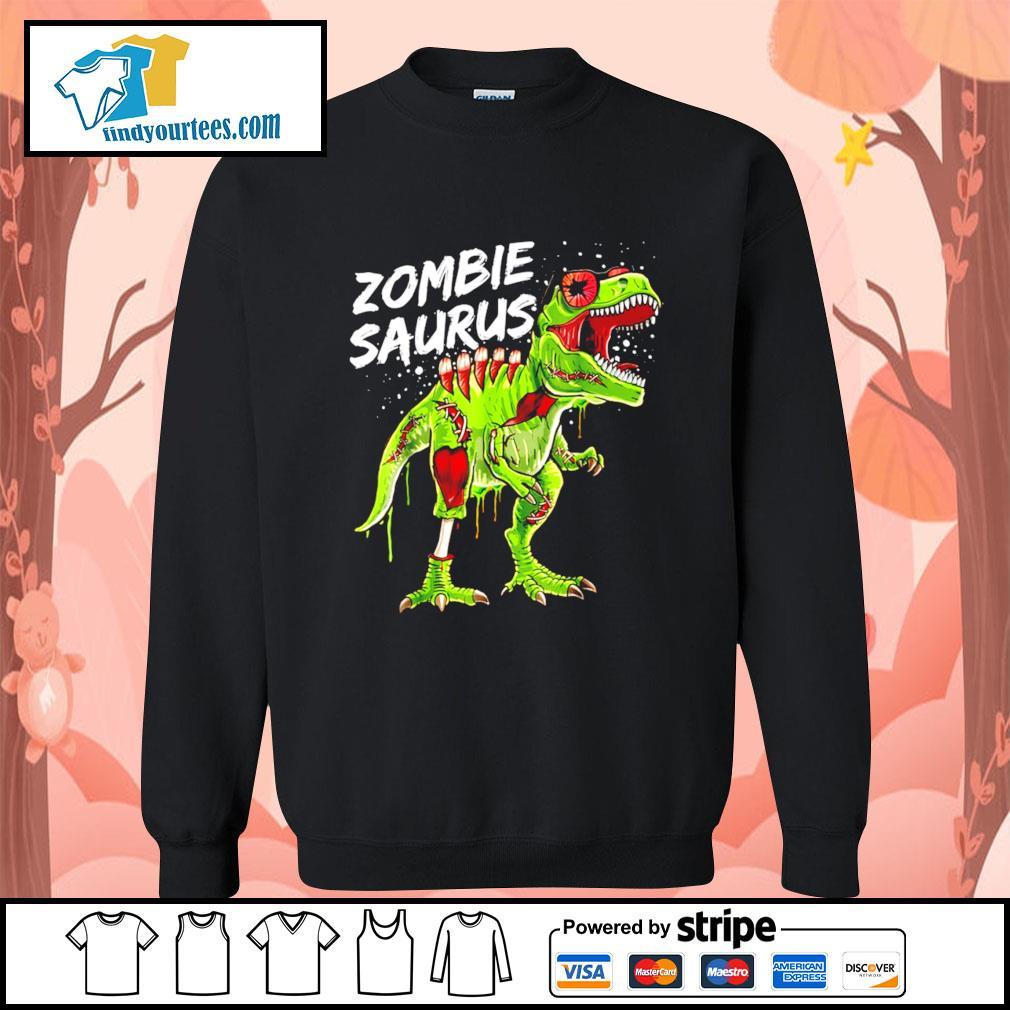 T-Rex zombie saurus Halloween s Sweater
