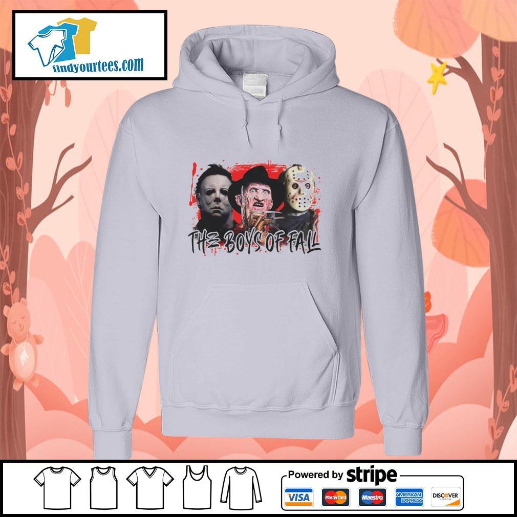 The boys of fall Michael Myers Freddy Krueger Jason Voorhees s hoodie