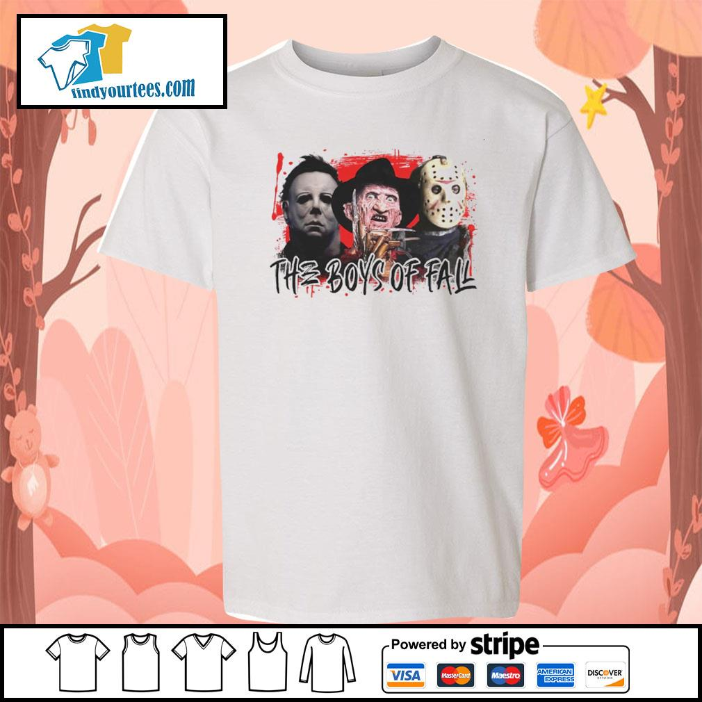 The boys of fall Michael Myers Freddy Krueger Jason Voorhees s youth-tee