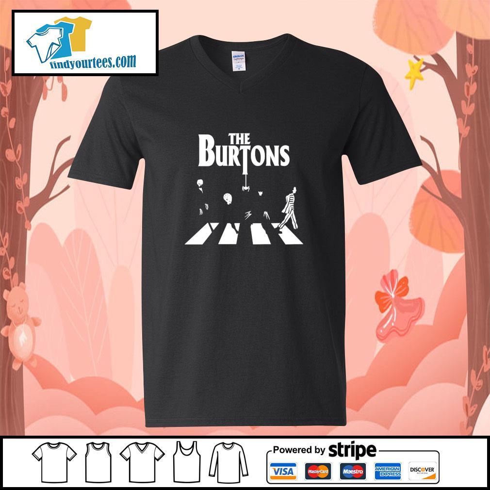 The burton abbey road s v-neck-t-shirt