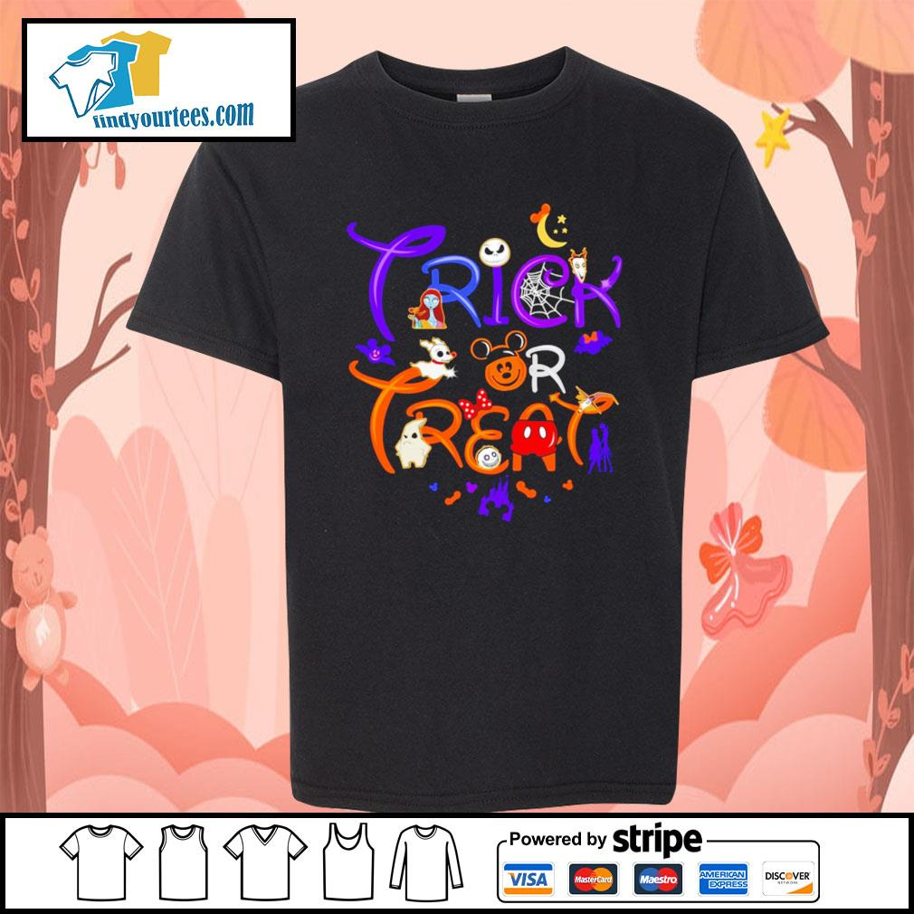 The Nightmare Before Christmas trick or treat Halloween s Kid-T-shirt
