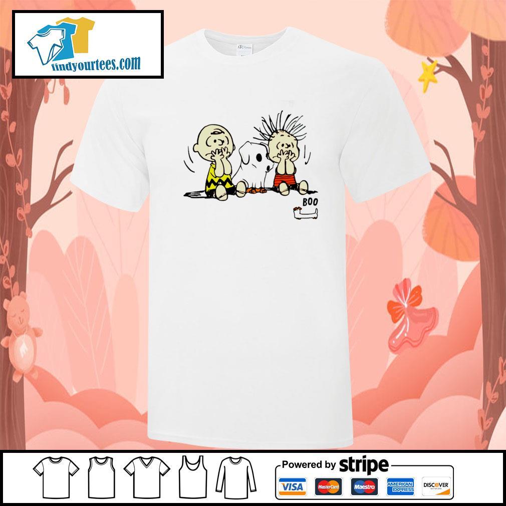 The peanuts dachshund ghost boo shirt