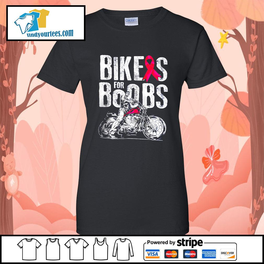 Bikes for boobs s Ladies-Tee
