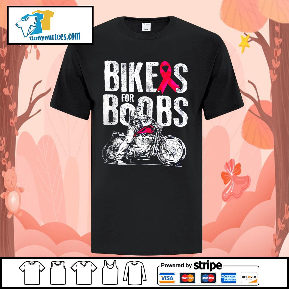Bikes for boobs shirt