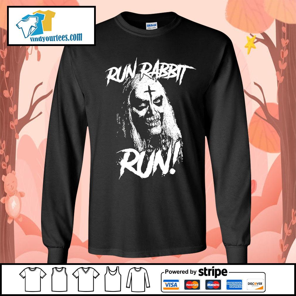 Bill Moseley Run Rabbit Run s Long-Sleeves-Tee