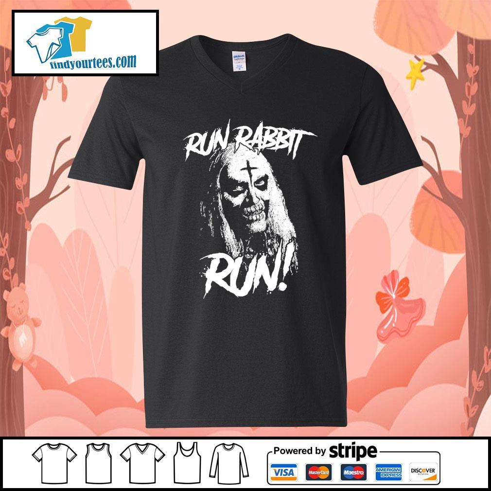 Bill Moseley Run Rabbit Run s V-neck-T-shirt