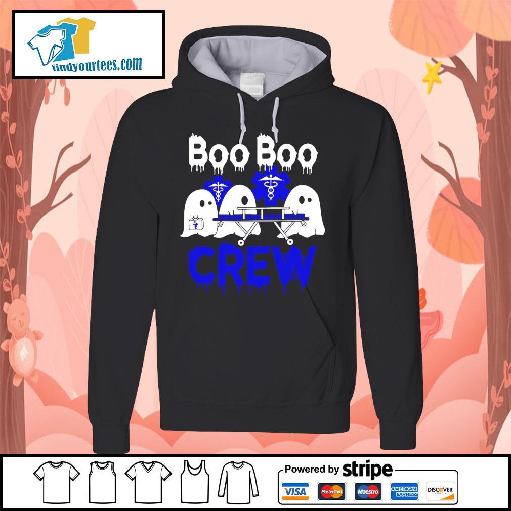 Boo Boo Crew Nurse Halloween s Hoodie