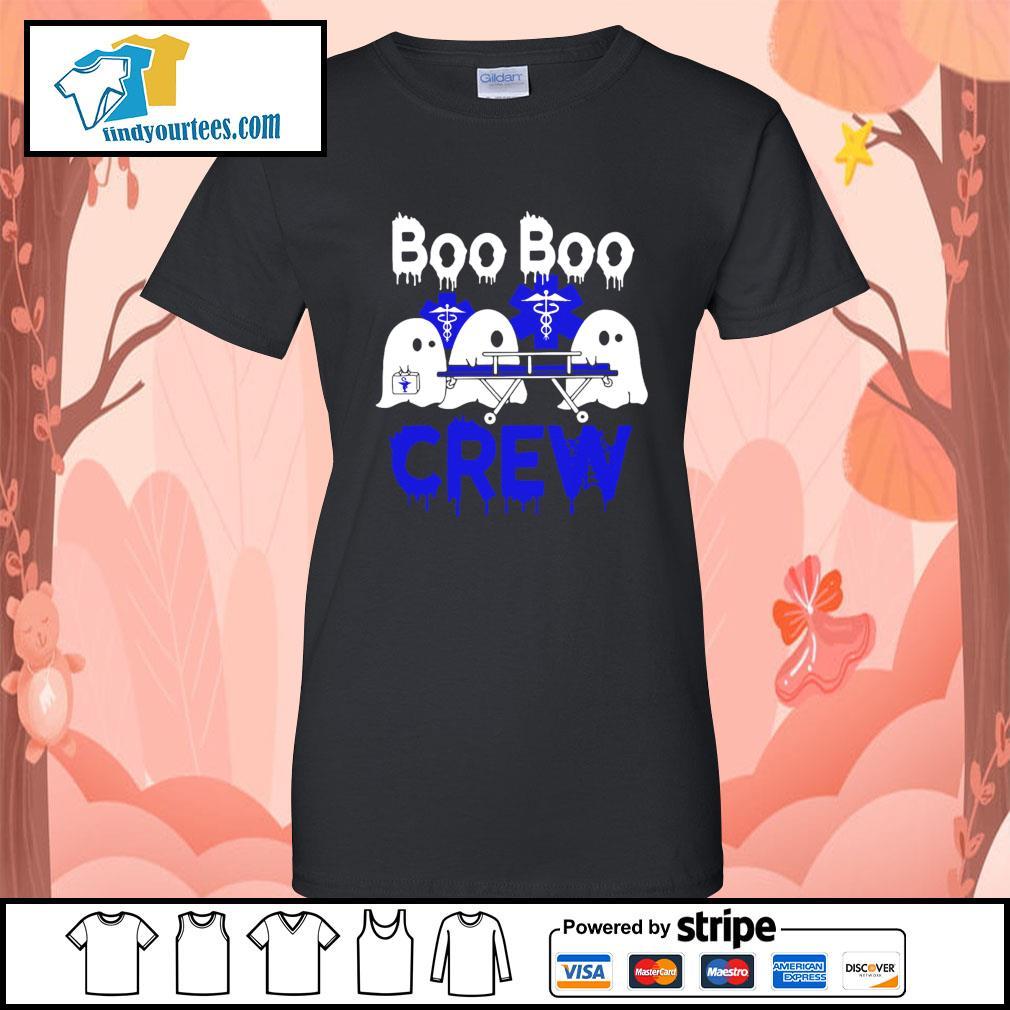 Boo Boo Crew Nurse Halloween s Ladies-Tee