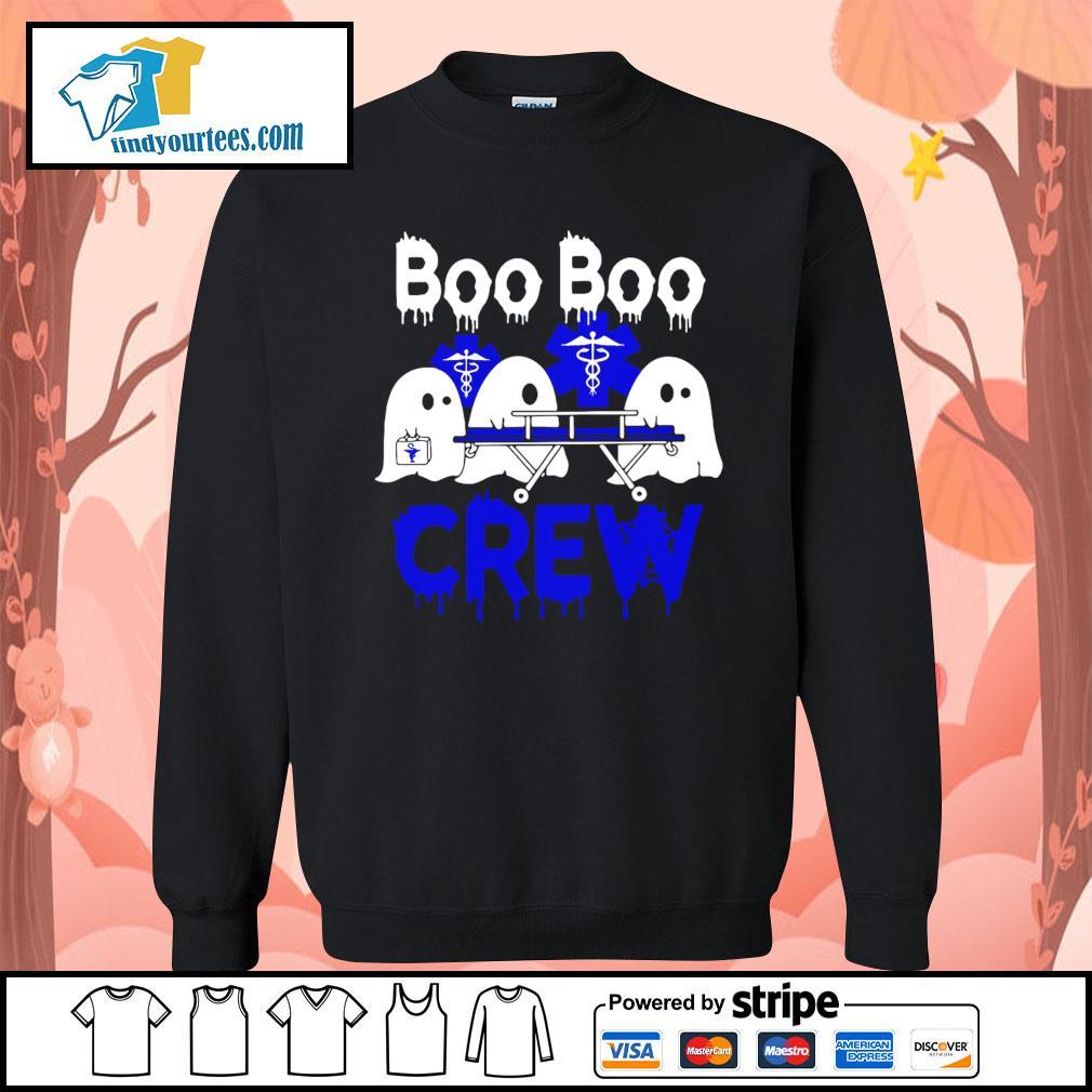 Boo Boo Crew Nurse Halloween s Sweater