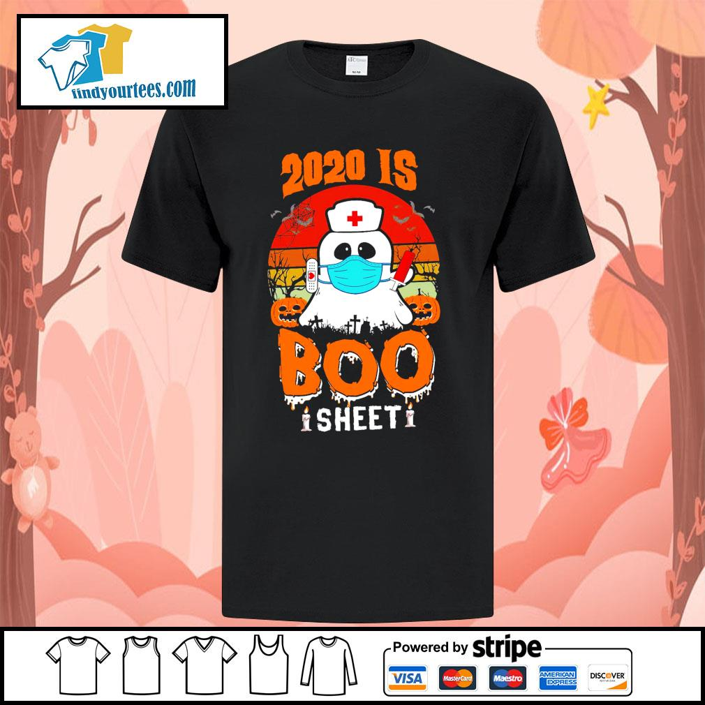 Boo Nurse 2020 is boo sheet shirt