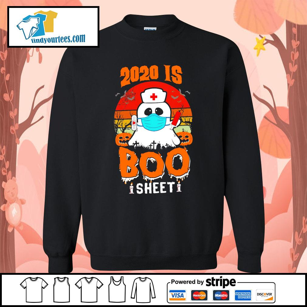 Boo Nurse 2020 is boo sheet s Sweater