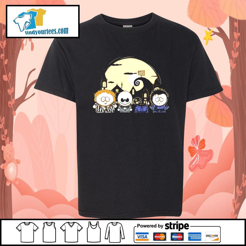 Burton Park Tim Burton Movie Mashup Happy Halloween s Kid-T-shirt