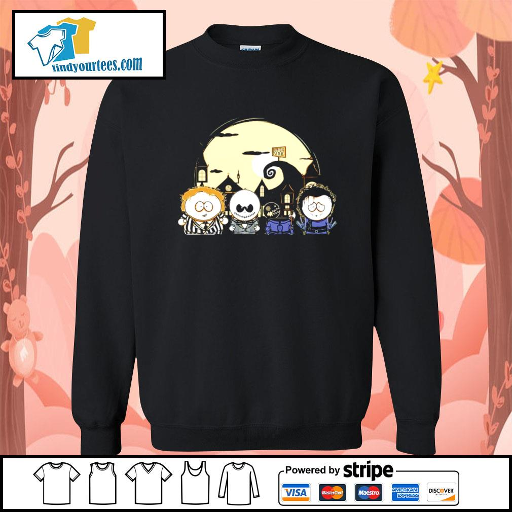 Burton Park Tim Burton Movie Mashup Happy Halloween s Sweater