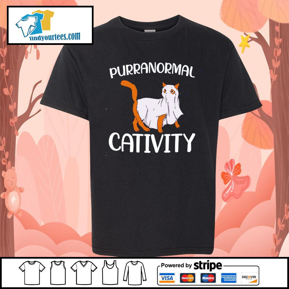 Cat purranormall cativity s Kid-T-shirt