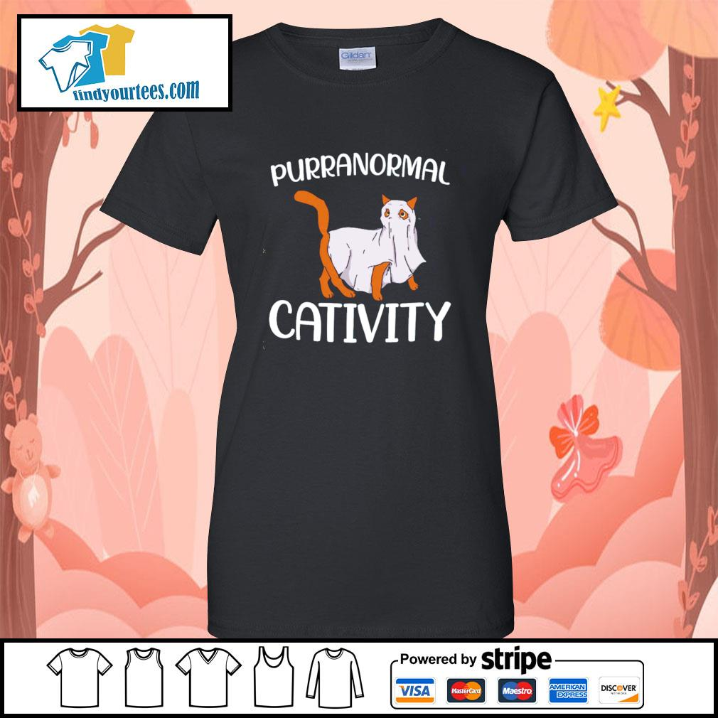 Cat purranormall cativity s Ladies-Tee